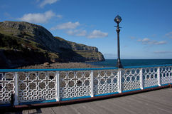 Llandudno Pier royalty free stock photo