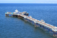 Llandudno Pier Royalty Free Stock Images