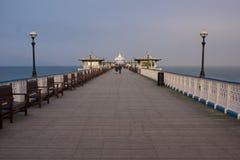 Llandudno Pier Stockbild