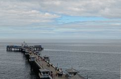 Llandudno Pier Stock Photography