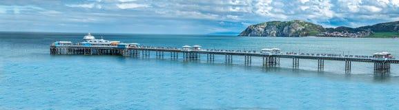 Free Llandudno Pier Is A Pier In The Seaside Resort Of Llandudno, North Wales, United Kingdom Royalty Free Stock Photography - 121315527
