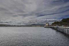 Llandudno Pier North Wales Regno Unito Fotografie Stock Libere da Diritti