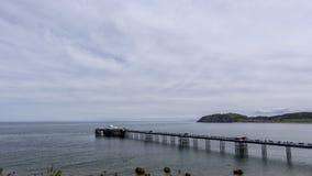 Llandudno Pier North Wales Regno Unito Immagini Stock