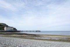 Llandudno Pier North Wales Regno Unito Fotografie Stock
