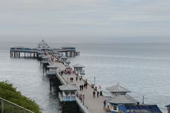 Llandudno Pier Royalty Free Stock Photos