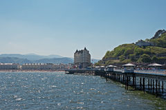 Llandudno pier in Wales UK, Royalty Free Stock Image