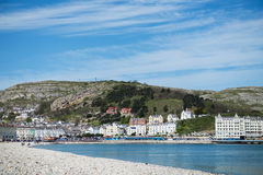 Llandudno Sea Front North Wales Royalty Free Stock Image