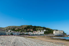 Llandudno Sea Front in North Wales, United Kingdom. Beautiful Summer Day in  Llandudno Sea Front in North Wales, United Kingdom Royalty Free Stock Photos