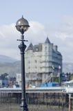 Llandudno sikt från havet UK Wales Royaltyfria Bilder