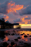 Llandudno Sunrise Royalty Free Stock Photo