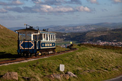 Llandudno Tram Royalty Free Stock Images