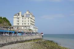 Llandudno uroczysty hotel Fotografia Stock