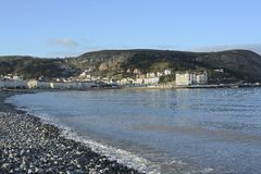 Llandudno, Wales. On a cold winters day Royalty Free Stock Photography