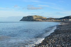Llandudno, Wales. On a cold winters day Stock Image