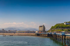 Llandudno Wales uk. In bright summer sun Stock Image