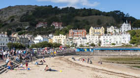 Llandudno Wales UK. The seaside town of Llandudno in Wales UK Stock Image