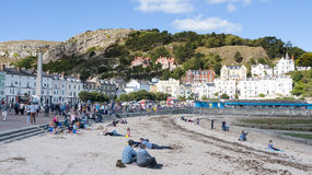 Llandudno Wales UK. The seaside town of Llandudno in Wales UK Stock Photography