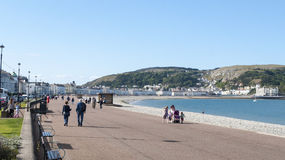 Llandudno Wales UK. The seaside town of Llandudno in Wales UK Stock Images