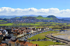 Llandudno West shore beach Royalty Free Stock Photography