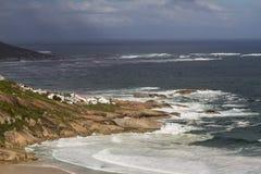 Llandudnokust van Kaapschiereiland royalty-vrije stock afbeelding