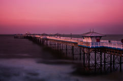 Llandudno pier, Wales Royalty Free Stock Photography