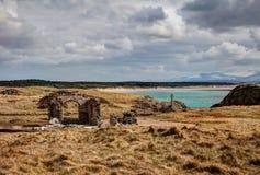 Llandwyn海岛 图库摄影