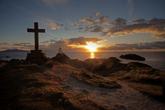 Llandwyn Insel Lizenzfreie Stockfotos
