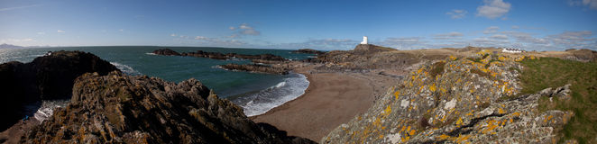 Llandwyn Island Royalty Free Stock Photos