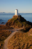Llandwyn Island Lighthouse Stock Image