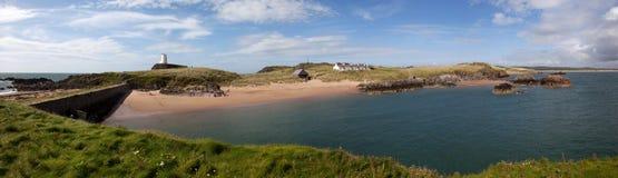 Llandwyn Island Panorama Stock Images