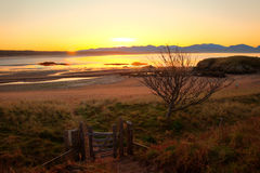 Llandwyn Island sunrise Royalty Free Stock Photography