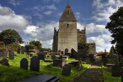 Llaneilian Norman  church Royalty Free Stock Images