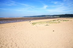 Llanelli Beach Royalty Free Stock Images