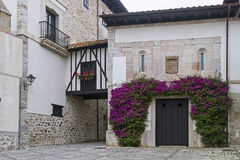 Llanes arquitecture. Llanes ancient architecture in Spain Royalty Free Stock Images