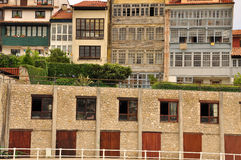 Llanes, Asturias, Spain. Typical Architecture Royalty Free Stock Photo