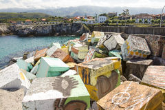 Llanes, Spain Royalty Free Stock Photos