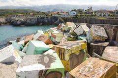 Llanes, Spanje Royalty-vrije Stock Foto's
