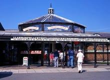 Llanfair PG stacja kolejowa Zdjęcia Stock