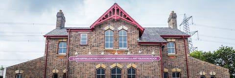 Llanfairpg, Anglesey-eiland, Wales, het UK royalty-vrije stock fotografie