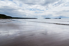 Llangennith Beach Wales Royalty Free Stock Photos