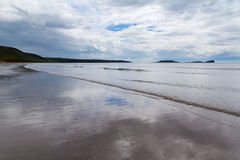 Llangennith Beach Wales Stock Photography
