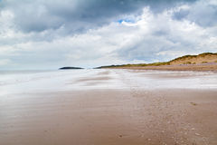 Llangennith Beach Wales Stock Images