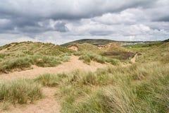 Llangennith strand Wales Royaltyfri Bild