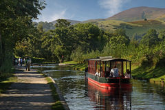 The Llangollan Canal Stock Photo