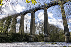 Llangollen Aquaduct, Północny Walia Zdjęcie Royalty Free