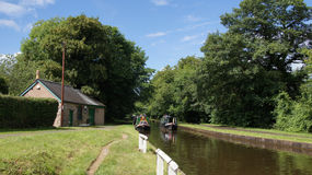 Llangollen canal Royalty Free Stock Image
