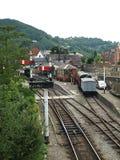 Llangollen-Eisenbahn Lizenzfreie Stockfotos