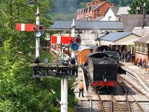 Llangollen-Eisenbahn Stockfotografie
