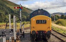 Llangollen heritage railway Stock Photos