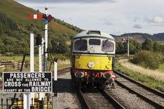 Llangollen heritage railway Stock Image